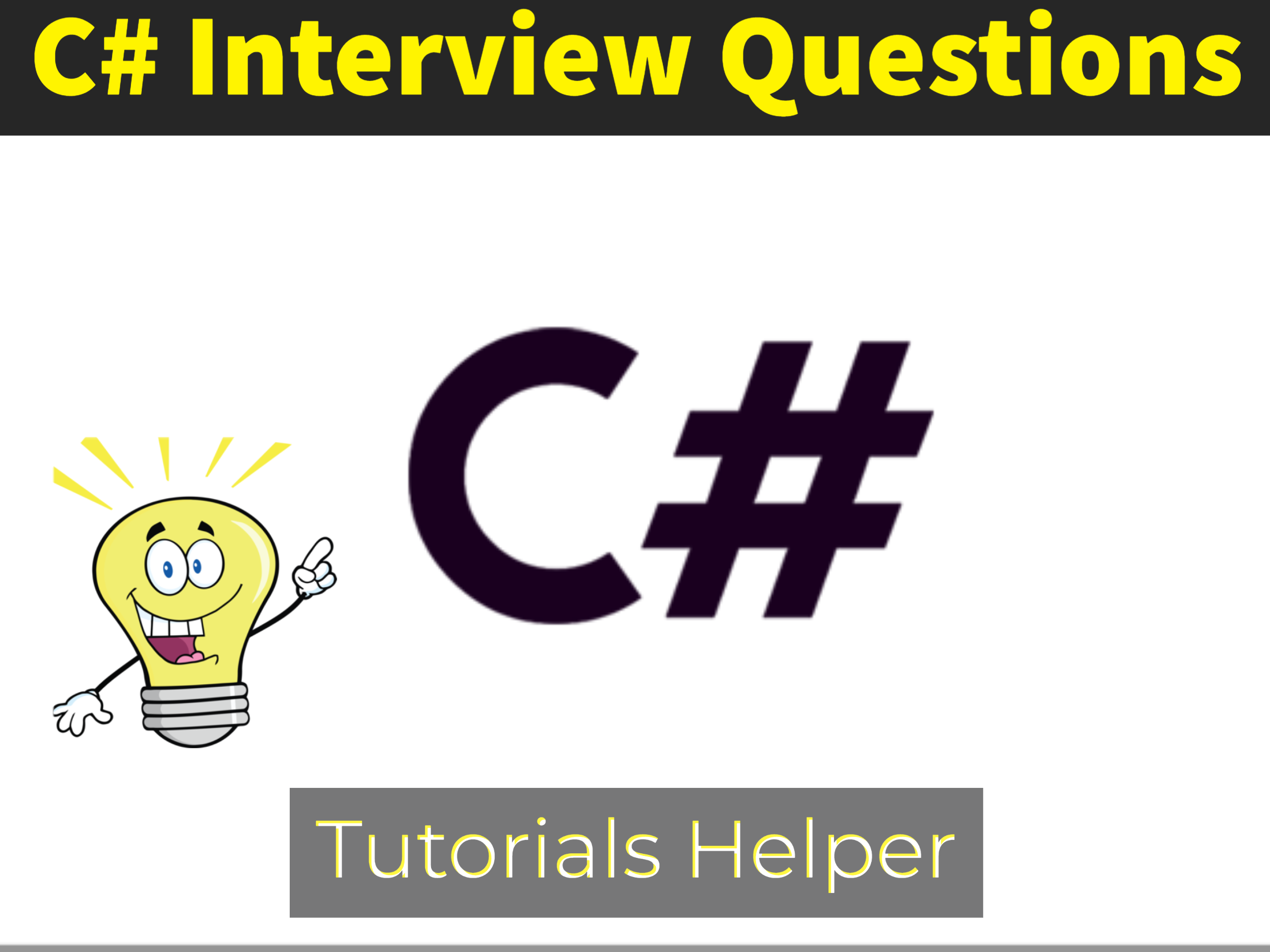 C# interview questions basic