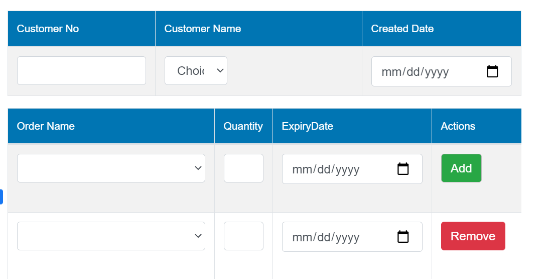 How to create dynamic form fields using jQuery